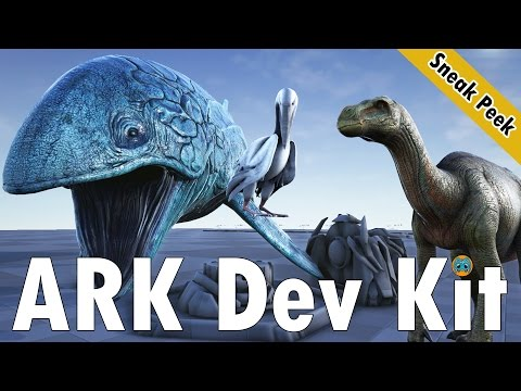 ARK Dev Kit Sneak Peek | Tek Power Generator, Leedsichthys, Ichthyornis, Iguanodon