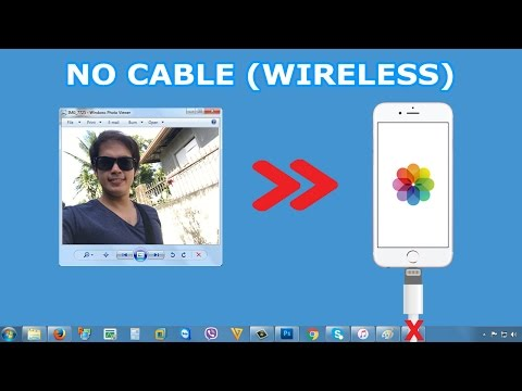 How to transfer Photos/Videos From Computer to iPhone/iPad Camera Roll Wirelessly (No Cable)