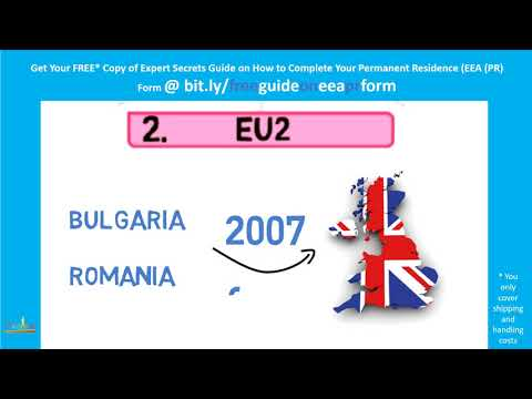 Accession States EU2 Countries (Part 2 of 3)