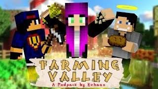 Minecraft: Farming Valley w/ Undecided, GamerSpace #1