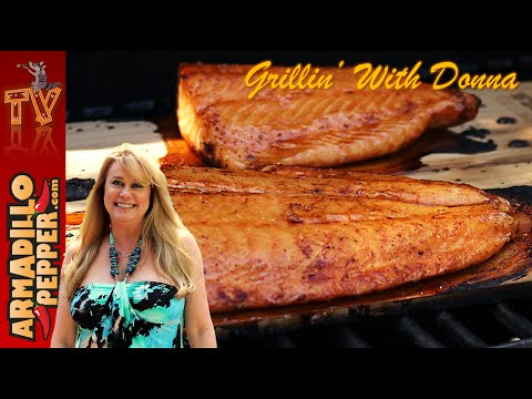 How to Make Grilled Cedar Plank Salmon | Maple-Rum Glaze Recipe