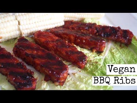 Finger Licking Vegan BBQ Ribs