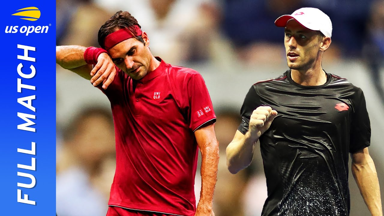 John Millman vs Roger Federer in a stunner under the lights! | US Open 2018 Round 4