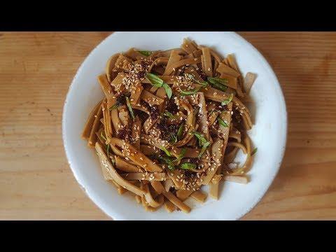 Soba buckwheat noodles - Nouilles de sarrasin soba - vegan & gluten free