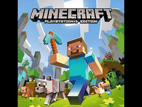 Como jogar Minecraft Playstation 3 Edition em ( 2 Player )
