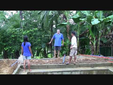 WALK AROUND IN OUR NEWLY IMPROVED FOREIGNERS HOUSE WITH OUR SWIMMING POOL WORK IN PROGRESS