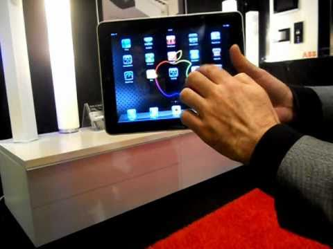 iPad or iPhone remote control for K&O TV lift