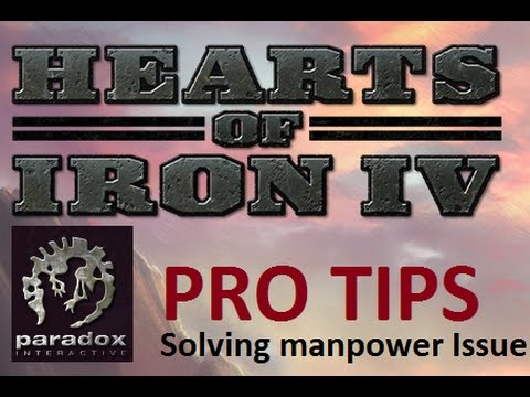 Hearts of Iron 4 Using Manpower of Subject States - Solving manpower issue