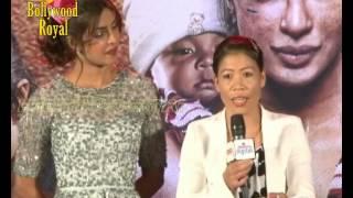 Priyanka Chopra, Mary Kom & Others at Song Launch 'Dil Yeh Ziddi Hai' of 'Mary Kom'  1