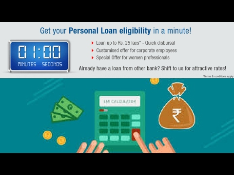 Personal Loan EMI Calculator - Check Eligibility