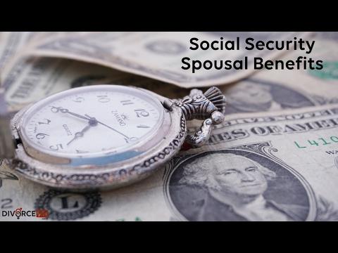 Divorce - Social Security Spousal Benefits