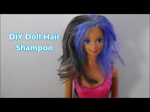 DIY: DOLL SHAMPOO! FROM VINTAGE BARBIE TO MODERN BARBIE.