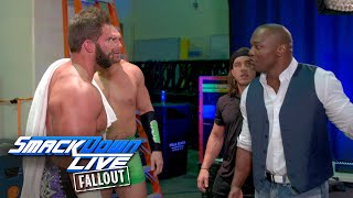 Are The Hype Bros on the same page?: SmackDown LIVE Fallout, Sept. 26, 2017