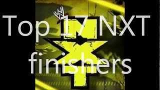 Top 17 NXT finishers