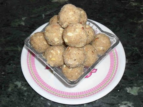 गोंद के लड्डू - Gond Ke Laddu - Edible Gum Laddu