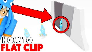 How to FLAT CLIP in Roblox! (Tutorial)