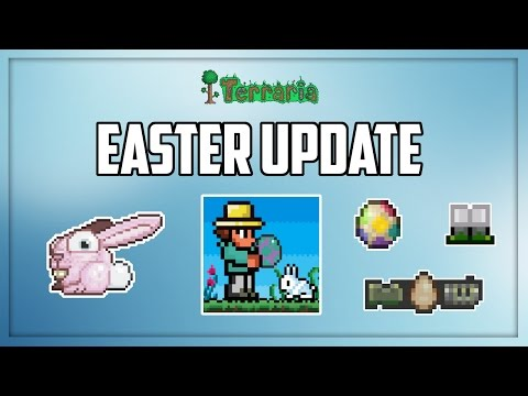 Terraria iOS 1.2.4 | Easter Update is Here!!! - Full Update Review 2017
