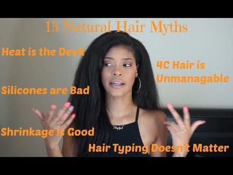 15 Natural Hair Myths