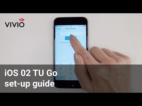 iOS O2 TU Go set-up guide