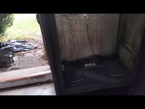 My homemade powder coating curing oven