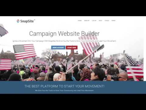 Campaign Websites - SnapSite.us