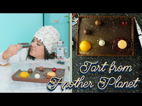 Raiza's Chocolate Tart From Another Planet | Food Network