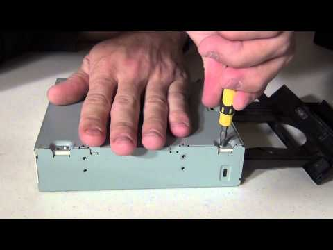 How to repair a CD/DVD drive that won't eject the discs - HD
