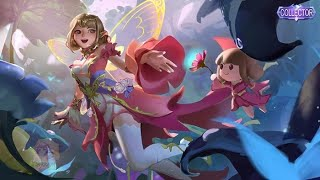 Push rank with NEW ANGELA SKIN FLORA Collector Mobile Legends
