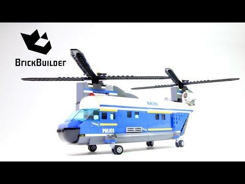 Lego City 4439 Heavy-Lift Helicopter - Lego Speed Build