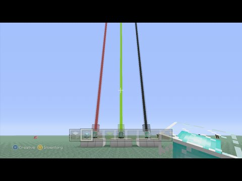 Minecraft (Xbox360/PS3) - TU25 Update! - How to Make Colored Beacons - TUTORIAL!