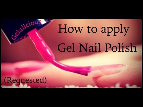 How To Apply Gel Nail Polish Basics (Requested)