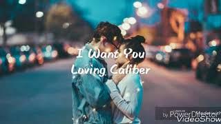 Download I Want You - Loving Caliber [ Lyrics / lyric video ]