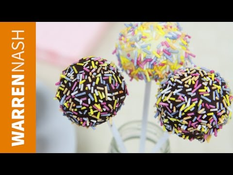 Cake Pop Recipe from scratch - Easy for beginners - Recipes by Warren Nash