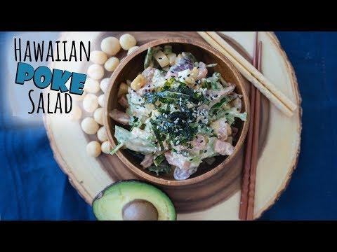 High Fat Keto Poke Salad | Hawaiian Style