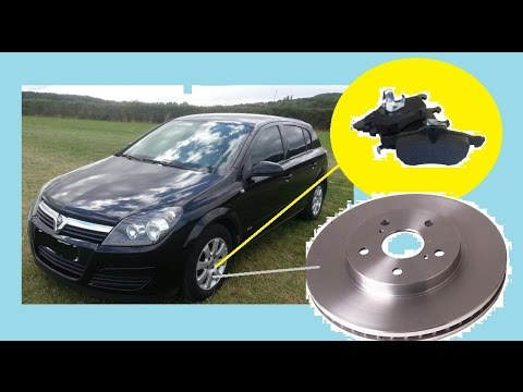 Replacing front brake pads and discs | VAUXHALL / OPEL ASTRA H