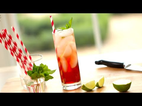 How To Make Non-Alcoholic Drinks for The Holidays! | ENTERTAINING WITH BETH