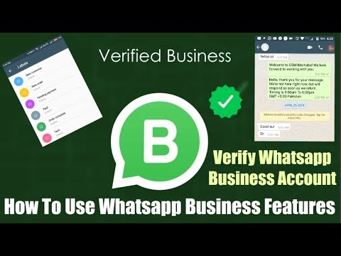 How To Use Whatsapp Business Features, Verify Whatsapp Business Account