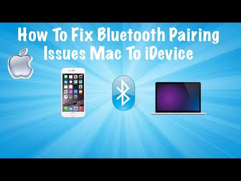 How To Fix Bluetooth Pairing Issues Macbook To iPhone