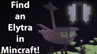 How To Make An End Portal And Find Elytra Minecraft Tutorial