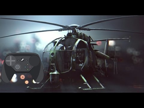Steam Controller Full Analogic Config 1.1 for Vehicles in Battlefield 4 tutorial