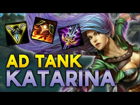 NEW OP? Trinity Force TANK KATARINA MID – The new tank Ekko? (League of Legends)