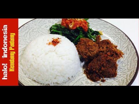Resep Rendang Padang   Padang's Beef Rendang Recipe - h! Indonesia