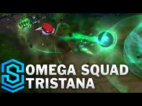 Omega Squad Tristana Skin Spotlight - League of Legends