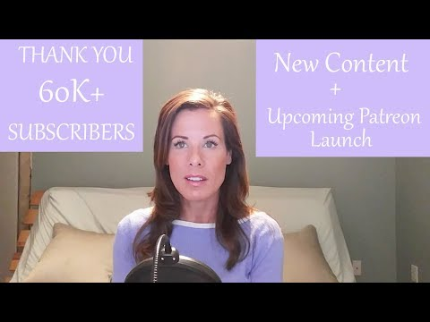 Thank You 60k Subscribers! And exciting news: new content and upcoming Patreon launch
