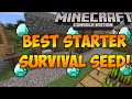 Minecraft Xbox & PS3: Best Starter Seed for Survival! | Tons of Blacksmiths & Temples!
