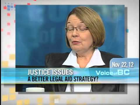 Shirley Bond - A Better Legal Aid Strategy For BC