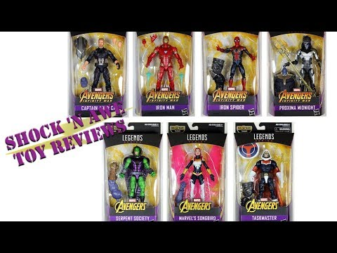 Hasbro Marvel Legends Avengers Infinity War Wave Review - SHOCK 'N AWE TOY REVIEWS