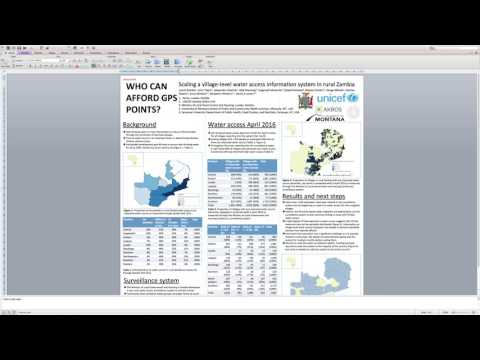 How to make a scientific poster using Microsoft Powerpoint