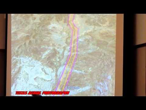 Trans-Pecos Pipeline route through the Big Bend Region.