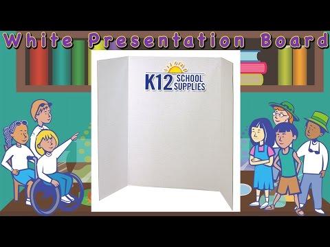 Best Tri Fold Board - Presentation Board - Display Board